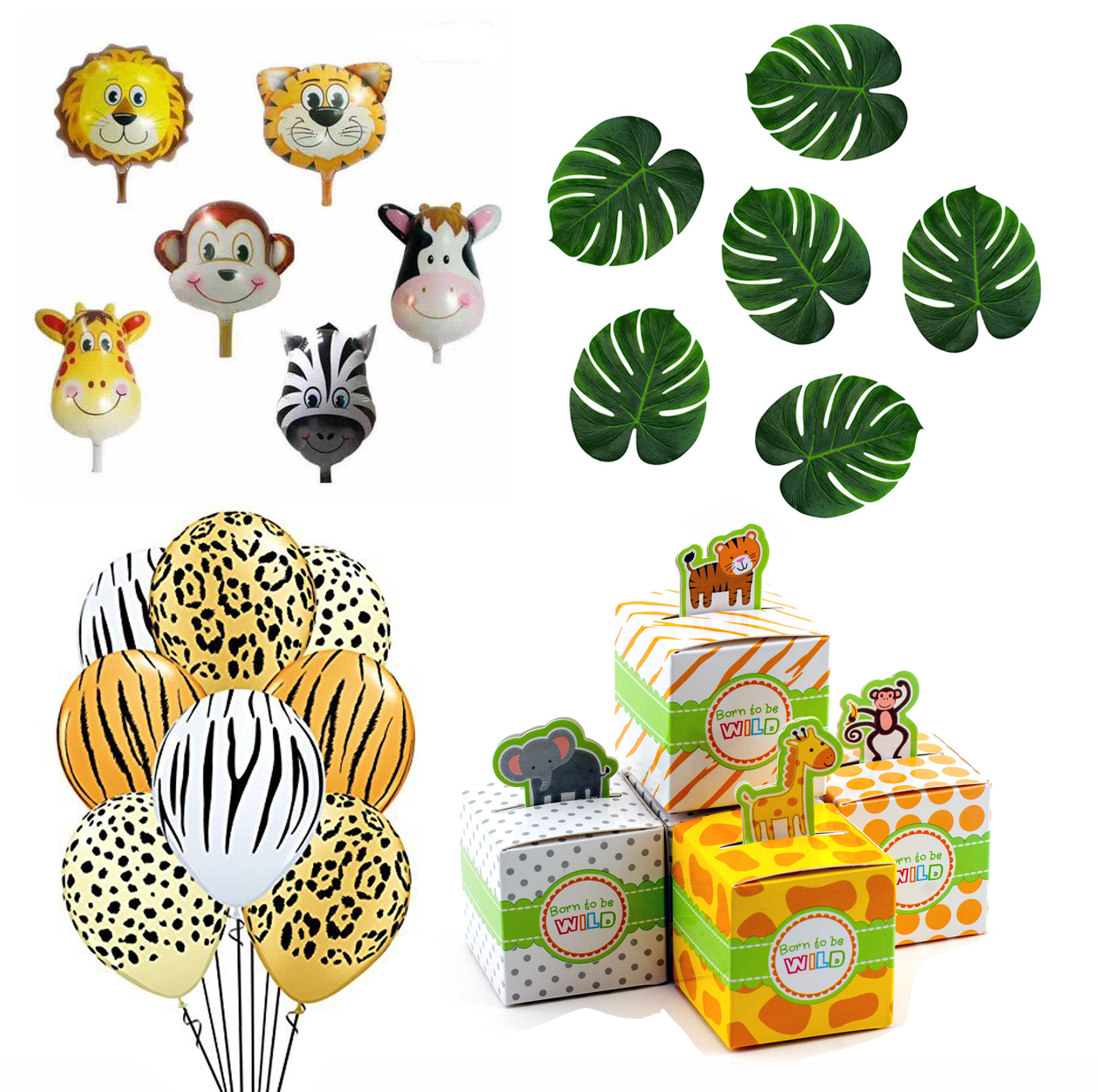 Ifavor123 Com Zoo Animal Jungle Safari Party Decorations