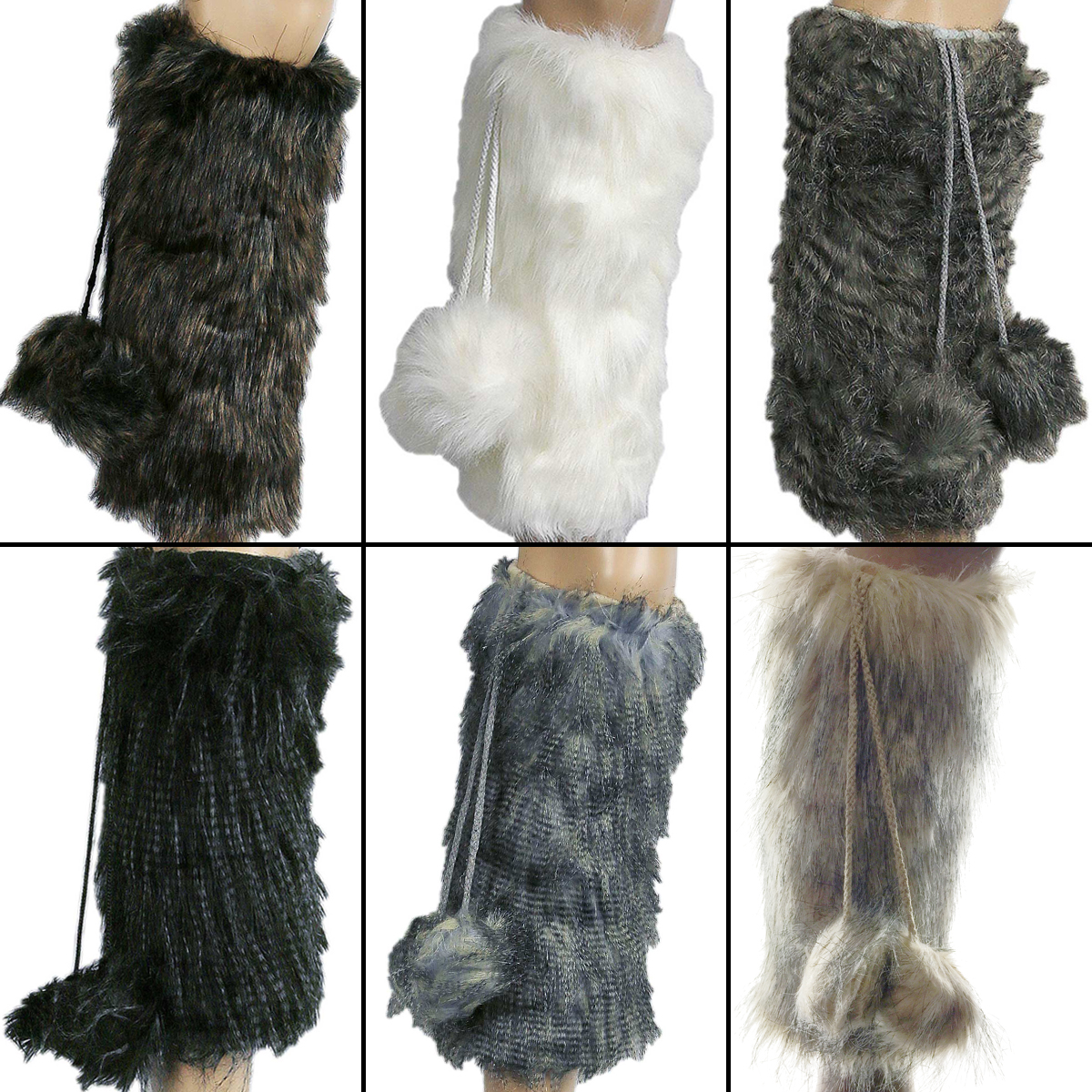 ifavor123.com  Women s Faux Fur Leg Warmers Furry Fuzzy Boots With ... dfd1158f4